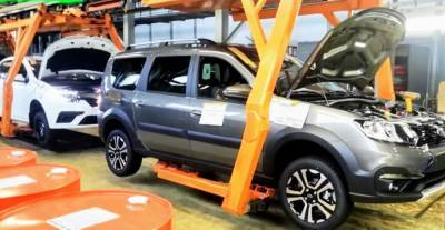 АВТОВАЗ возобновил производство автомобилей на всех линиях