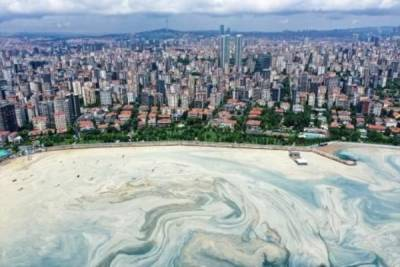 «Морские сопли» не отступают от Стамбула — фото