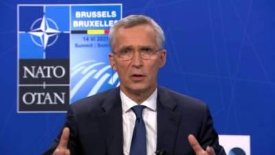 Столтенберг: встреча Путина и Байдена важна в контексте отношений РФ и НАТО