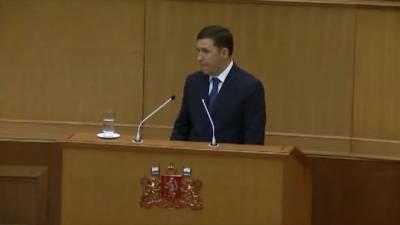 Свердловский губернатор отчитал депутатов, которые не привились от COVID-19