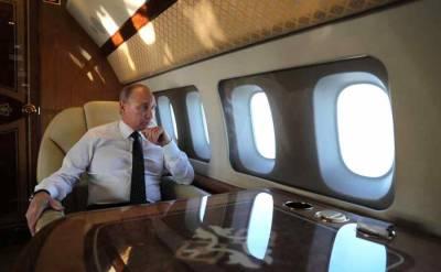 Самолет президента России вылетел из Москвы в Женеву