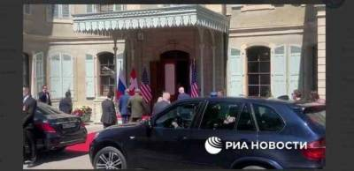 Российская делегация прибыла на место проведения саммита Россия — США