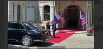 Путин прибыл на место проведения саммита Россия — США
