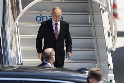 Путин и Байден встретились и пожали руки