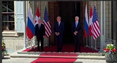 Путин и Байден встретились в Женеве
