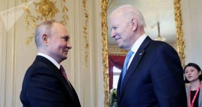 Президенты Путин и Байден встретились в Женеве. Видео первого рукопожатия