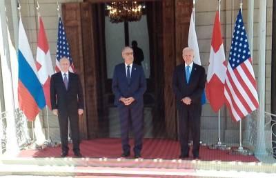 В Женеве началась встреча Владимира Путина и Джо Байдена