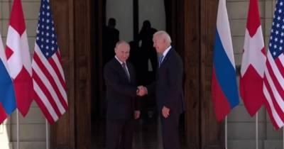 Переговоры в Женеве начались: Байден первым протянул руку Путину (видео)