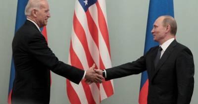 Байден и Путин встретились и пожали руки в Женеве