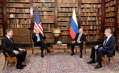 Путин оценил отношения России и США на встрече с Байденом