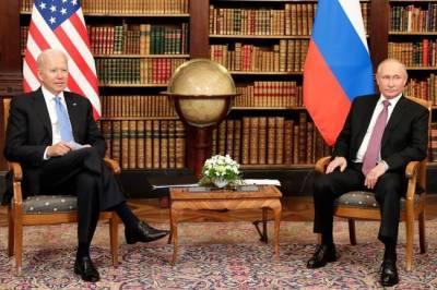 Полезная встреча с неясными перспективами: как проходит встреча Путина и Байдена