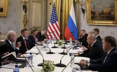 Переговоры Путина и Байдена перешли в расширенный формат