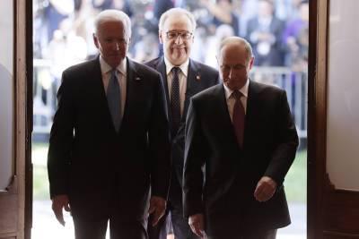 В Женеве завершились переговоры Путина и Байдена