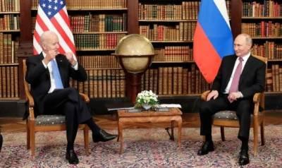 Встреча Владимира Путина и Джо Байдена завершилась