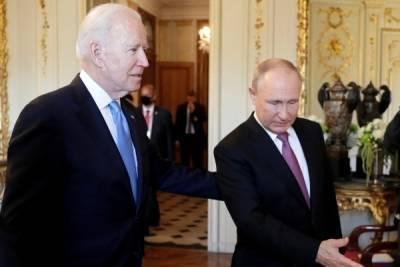 Завершилась встреча Владимира Путина и Джо Байдена в расширенном составе