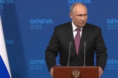 Путин объяснил учения на границе с Украиной
