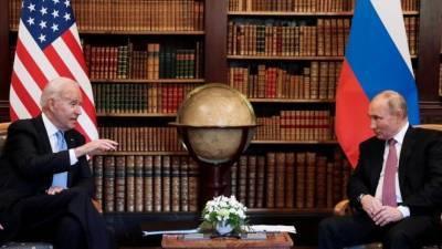 Путин дал оценку итогам встречи с Байденом в Женеве