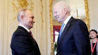Владимир Путин: пресс-конференция по итогам саммита в Женеве