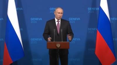 Путин рассказал, что они с Байденом решили по Украине