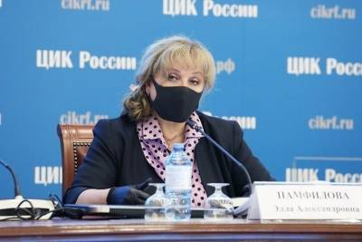 Памфилова раскритиковала власти Петербурга за избирательную систему города