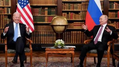 Байден на встрече c Путиным поднял вопрос о работе Радио Свобода в России