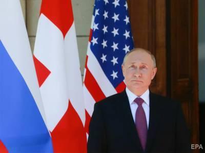 """""""Меня эти объяснения устроили"""". Путин заявил, что Байден объяснился за """"убийцу"""""""