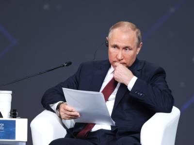 Путин признал, что США удалось отчасти сдержать развитие России с помощью санкций