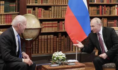 Байден заявил, что США и РФ не настроены на конфликт