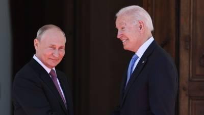 Как встречали и что сказали друг другу президенты России и США в Женеве