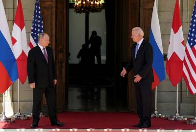 Женевский саммит: о чем договорились лидеры США и России (взгляд Путина и Байдена)