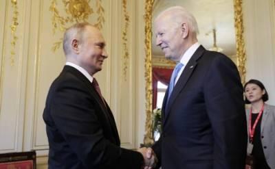 Президенты России и США обсудили проблемы двусторонних отношений в Женеве