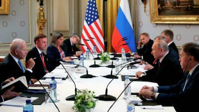 «Красные линии» мы не делили – Путин о переговорах с Байденом