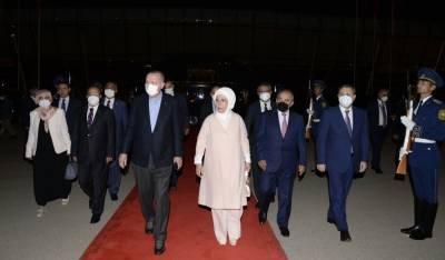 Завершился визит Президента Турции Реджепа Тайипа Эрдогана в Азербайджан (ФОТО)