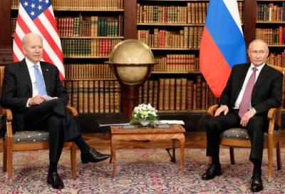 В Кремле прокомментировали итоги встречи Путина и Байдена