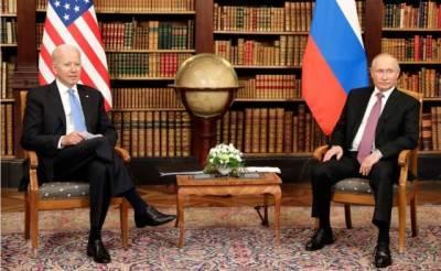 В администрации США подвели итоги встречи Путина и Байдена