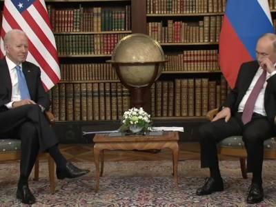 В команде Зеленского оценили встречу Путина и Байдена