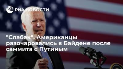 Читатели Fox News разочаровались в Джо Байдене после саммита с Путиным