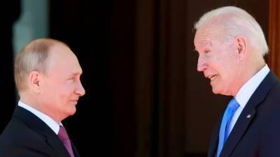 Песков отметил расхождения по Белоруссии у Путина и Байдена на саммите в Женеве