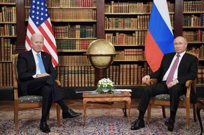 В Кремле оценили переговоры Путина и Байдена
