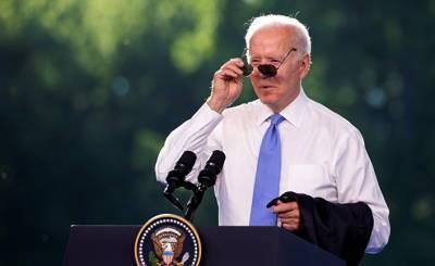 White House (США): пресс-конференция президента Джо Байдена