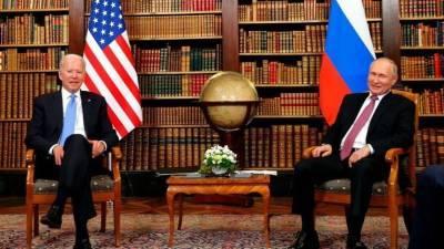 «Скорее со знаком плюс»: Песков оценил встречу Путина и Байдена