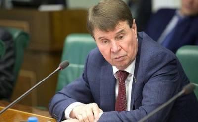 Цеков: заявлениями о войне депутат Рады Волошин старается удержать Украину от провокационных действий в Донбассе