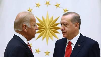Эрдоган заявил, что Байден хочет приехать в Турцию