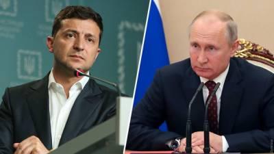 В Кремле рассказали, что думает Путин и возможной встрече с Зеленским