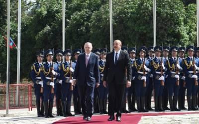 Эрдоган не исключил турецкую военную базу в Азербайджане