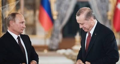 Эрдоган заявил, что в ближайшее время встретится с Путиным