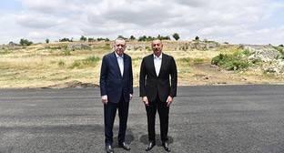 Эрдоган связал создание военной базы в Азербайджане с позицией России