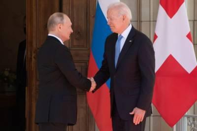 Путин оценил итоги встречи с Байденом