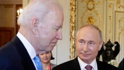 «Надо очень внимательно с ним работать»: Путин рассказал о встрече с Байденом
