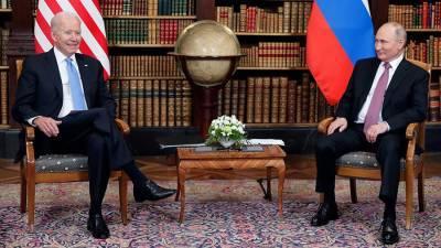 Помощник Байдена рассказал о поднятой им на встрече с Путиным теме кибератак